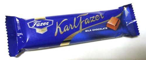 Chocolate wallpaper titled Fazer's milk chocolate bar