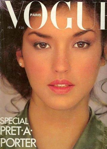 Vogue wallpaper called Feb 1978: Janice Dickinson