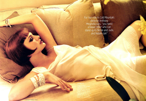 Vogue wallpaper entitled February 2004: Natalie Portman