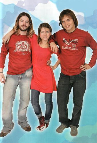 Feli, Cami and Benja