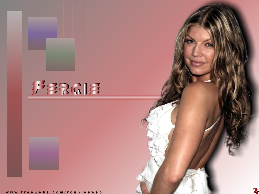 Fergie  qualty wallpaper