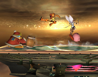 Super Smash Bros. Brawl wolpeyper called Final Destination