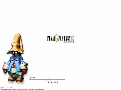 Final ফ্যান্টাসি IX Characters