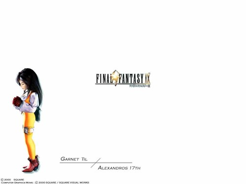 Final Fantasy IX Characters - final-fantasy Wallpaper