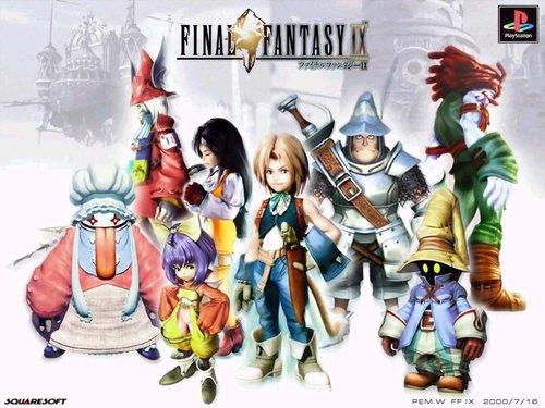 Final Fantasy IX wallpaper entitled Final Fantasy IX
