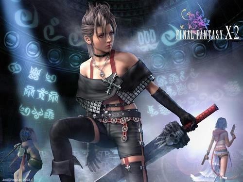 Final Fantasy X2 achtergrond