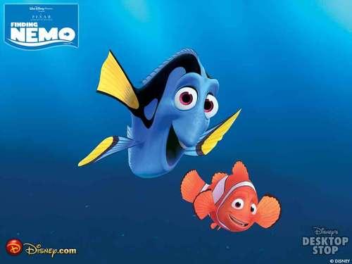 Pixar fond d'écran titled Finding Nemo