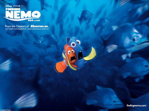 Pixar fond d'écran called Finding Nemo
