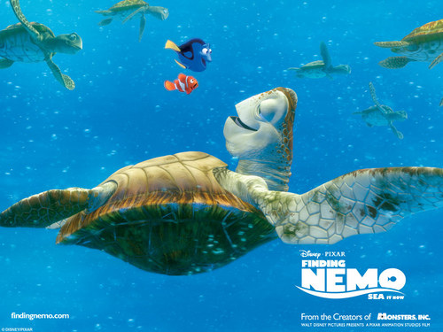 Pixar wallpaper entitled Finding Nemo