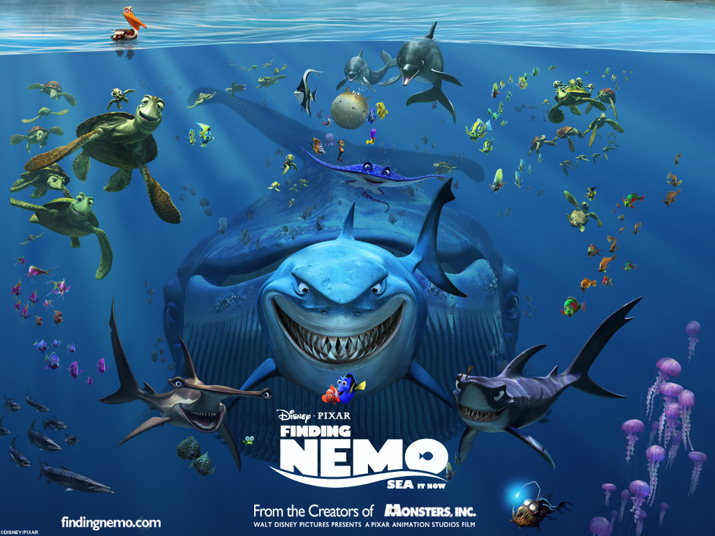 finding nemo pixar wallpaper  67275  fanpop hammerhead shark clipart images Hammerhead Shark Silhouette