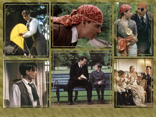 Johnny Depp wallpaper entitled Finding Neverland