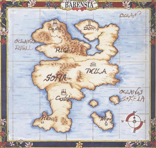 আগুন Emblem Barensia Map