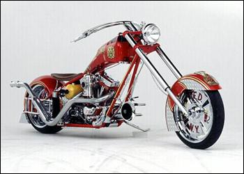 Fire bike orange county choppers Photo