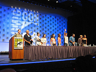 Firefly cast at Comic Con