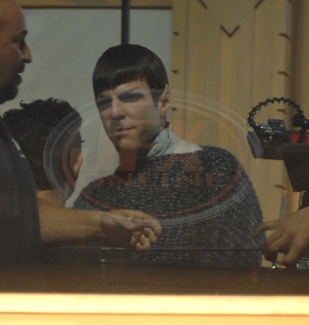 First Look Of The New Spock!