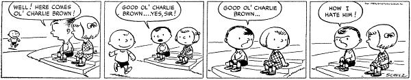 First Peanuts Cartoon