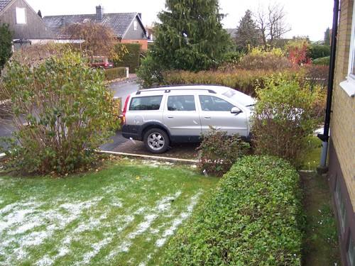 First Snow in Sweden