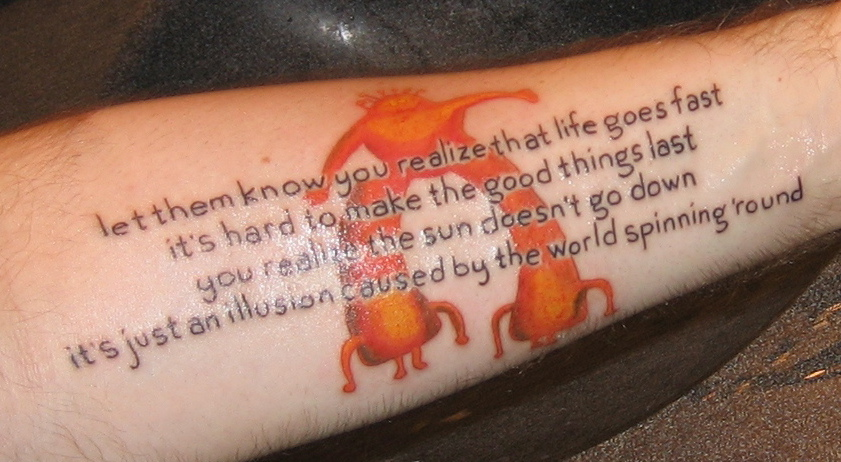 Flaming Lips Tattoo