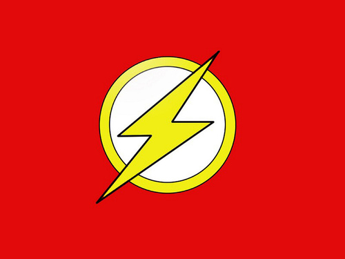 DC Comics wallpaper entitled Flash logo