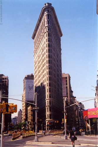 New York Обои titled Flatiron Building