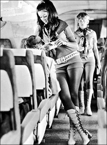 Flight Attendants of the 70s