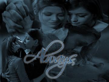 Alyson Hannigan achtergrond entitled Forever