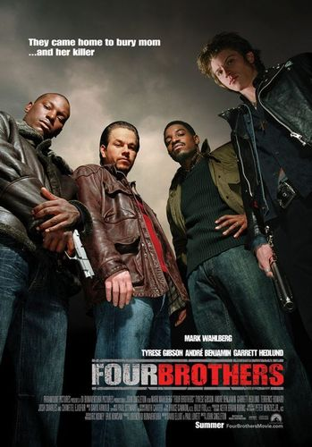 Four Brothers Poster - mark-wahlberg Photo