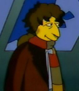 Fourth Doctor in Simpsons