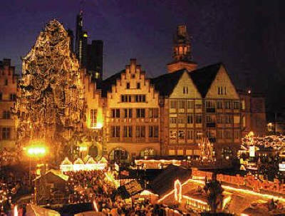 Frankfurt at Christmas - germany Photo