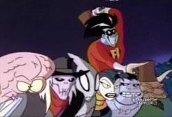 Freakazoid and villains