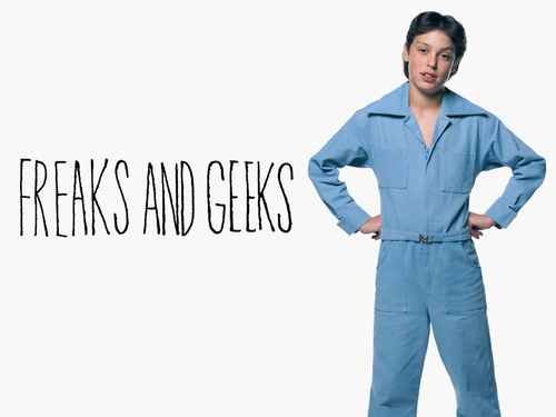 Television wallpaper titled Freaks and Geeks