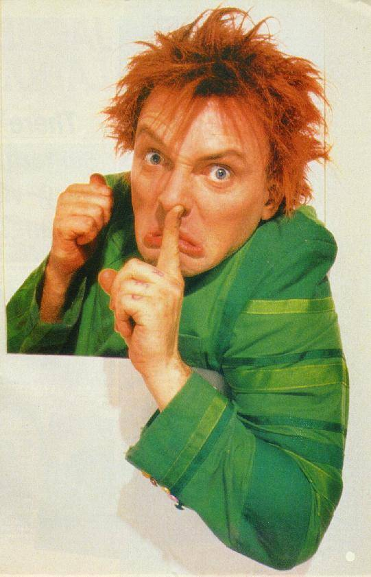 """drop dead fred Americans hearing news of the death of british comedian rik mayallprobably  had one of two reactions: either """"oh no i loved drop dead fred."""