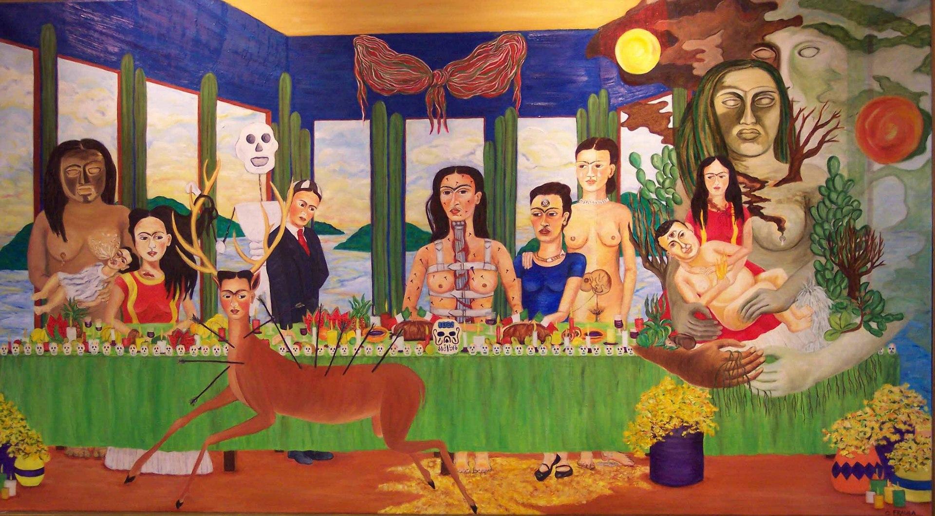 Frida Kahlo's Last avondmaal