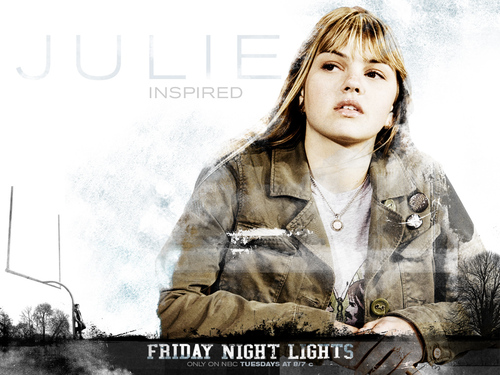 Julie Taylor - friday-night-lights Wallpaper