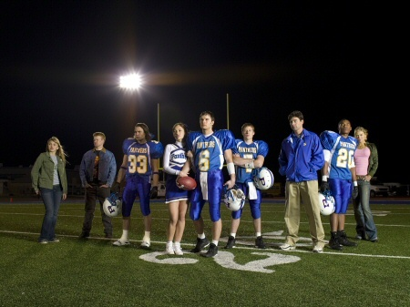 Fernsehen Hintergrund called Friday Night Lights on NBC