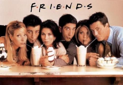 Friends wallpaper entitled Friends Cast