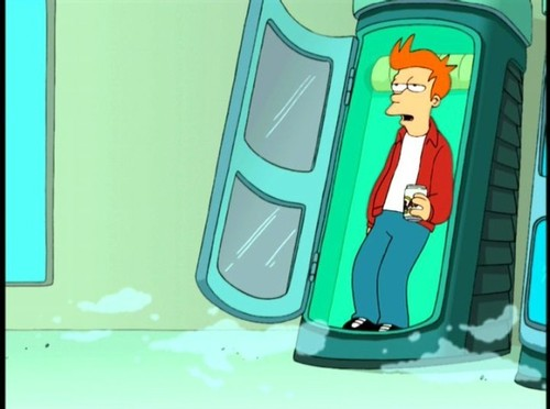 Fry Gets Frozen