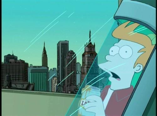 Fry Gets फ्रोज़न