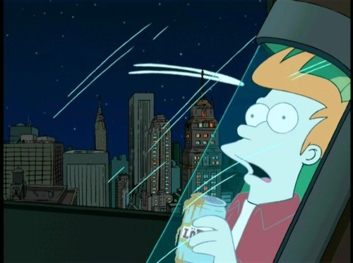 Fry Gets Frozen