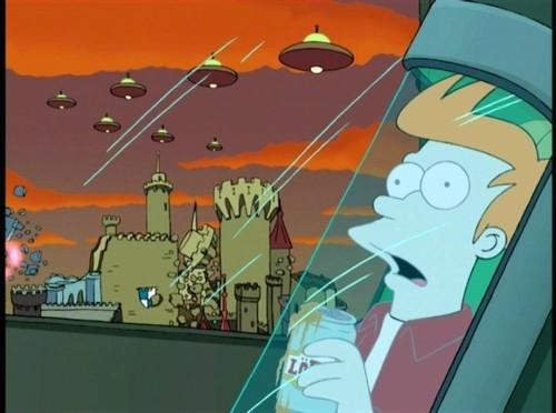 Fry Gets Frozen - Uma Aventura Congelante