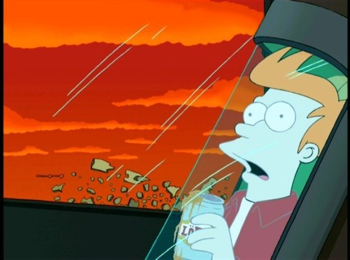 Fry Gets 《冰雪奇缘》