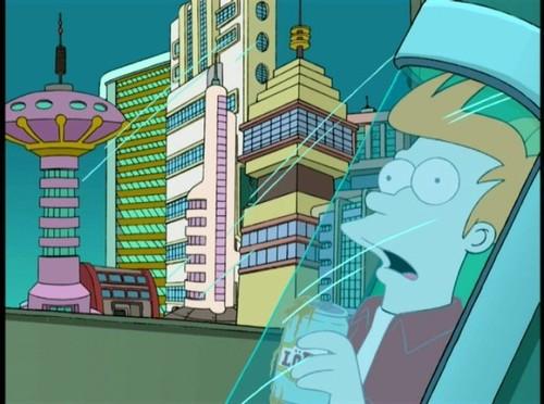 Fry Gets 겨울왕국