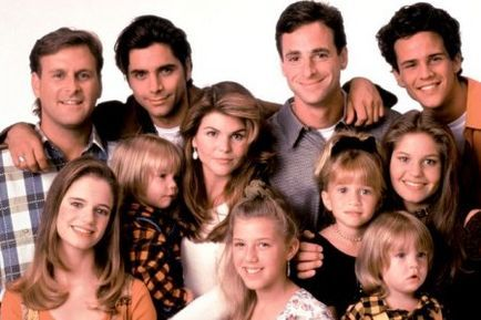 Full House wallpaper called Full House Cast