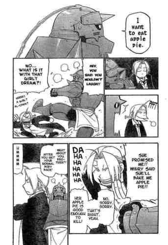 Funny FMA Manga
