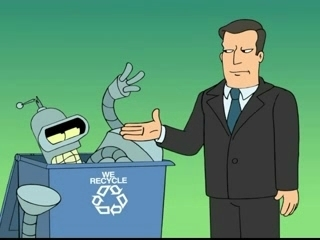 Futurama Goes Green