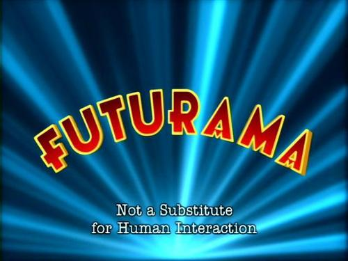 Television wallpaper called Futurama Opening