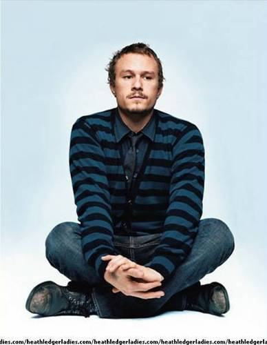 GQ: February 2006 - heath-ledger Photo