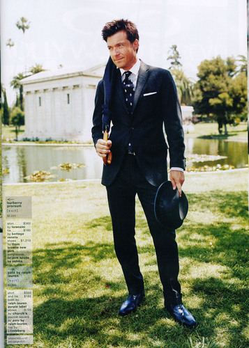 Jason Bateman wallpaper titled GQ scans