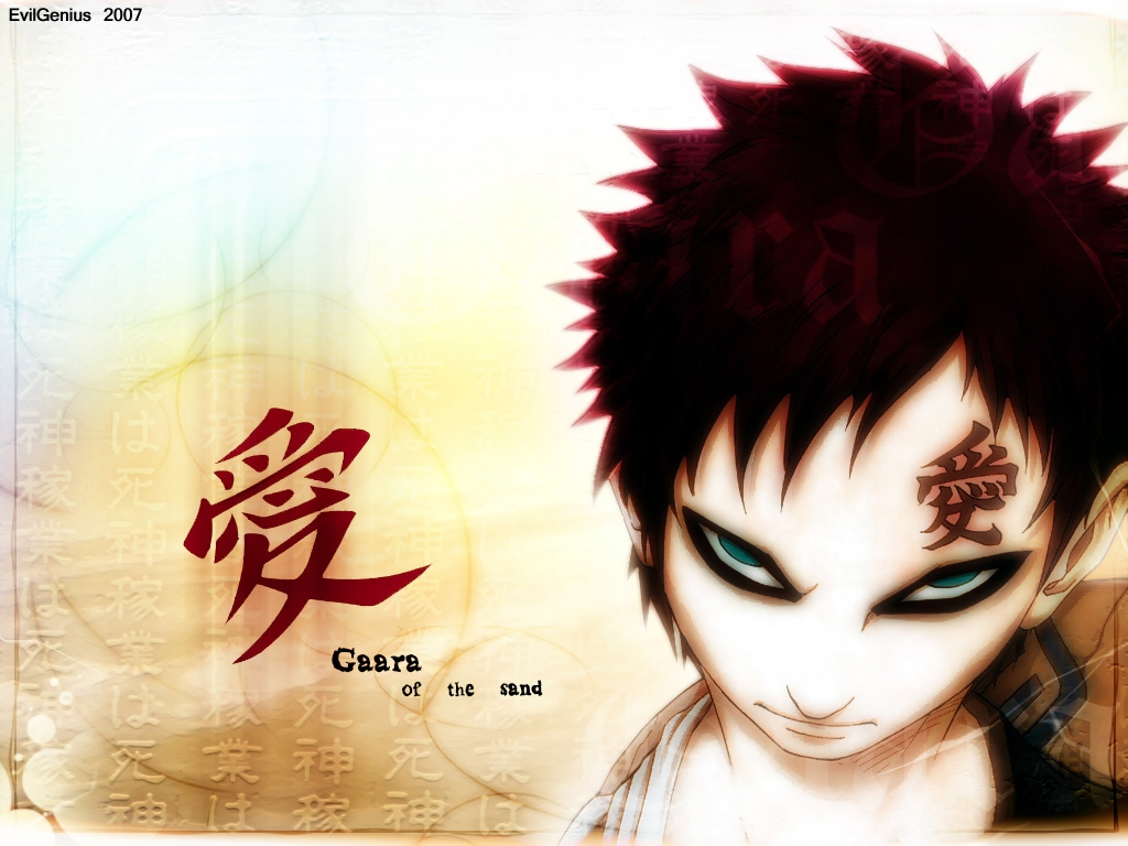 naruto and gaara wallpaper - photo #25