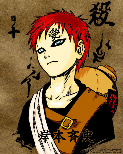 Naruto wallpaper titled Gaara